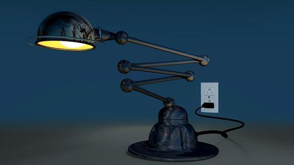 Lampy industrialne stojące